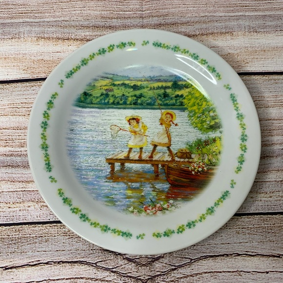 Vintage Other - Anne of Green Gables Limited Edition Plate